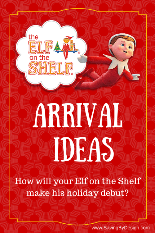 elf on the shelf arrival letter on the shelf ideas 30 days of elfing around saving 21462