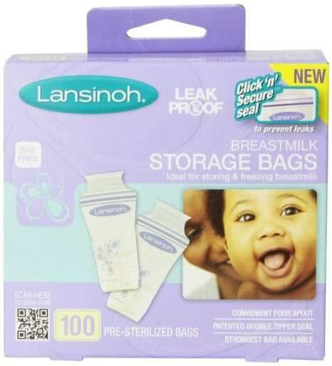 breastmilk storage bags