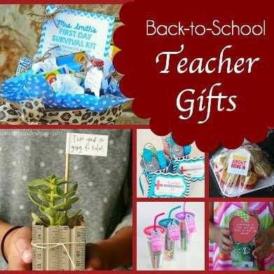 13 Back to School DIY Teacher Gifts to Start the Year Off Right