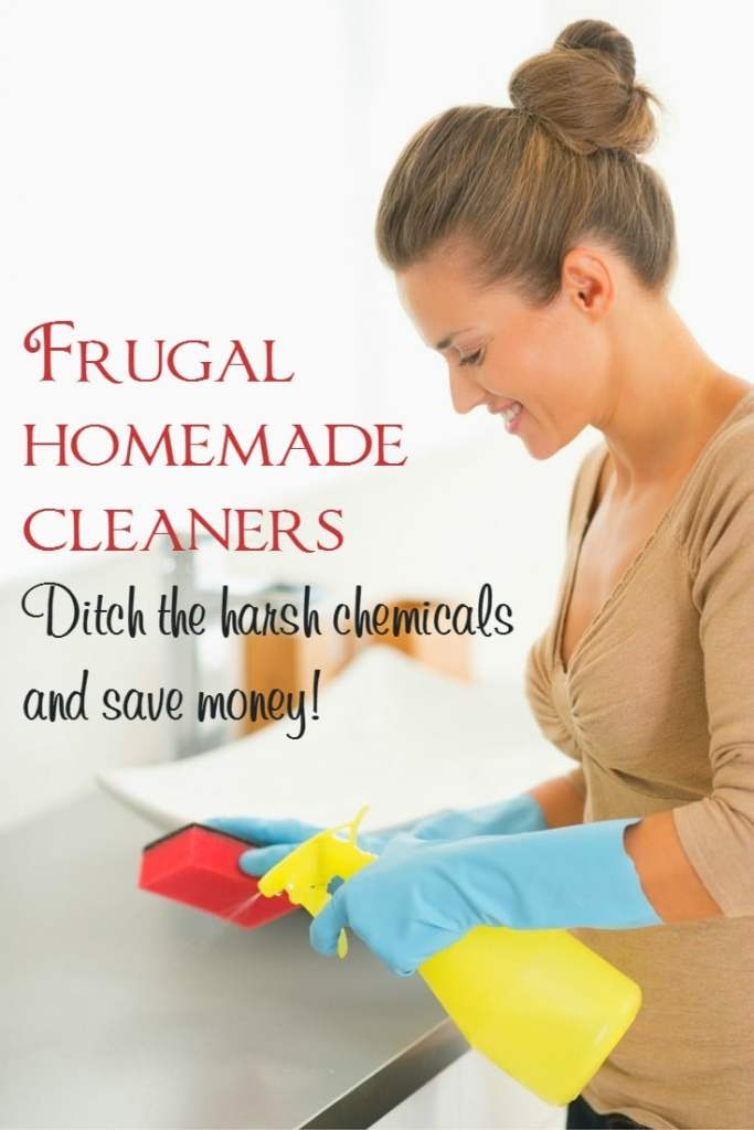 frugal homemade cleaner