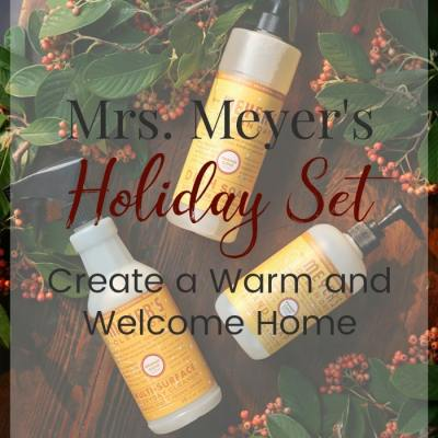 FREE Mrs. Meyer's Seasonal Cleaners – Make Your Home Warm and Welcoming This Holiday Season!
