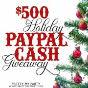 Win $500 Cash to Recover From All That Holiday Spending!