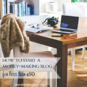 How to Start a Money-Making Blog for Less Than $50