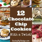 Chocolate chip cookies are my absolute favorite! While my plain ol' chocolate chip cookies aren't so fancy, these recipes are sure to kick them up a notch.