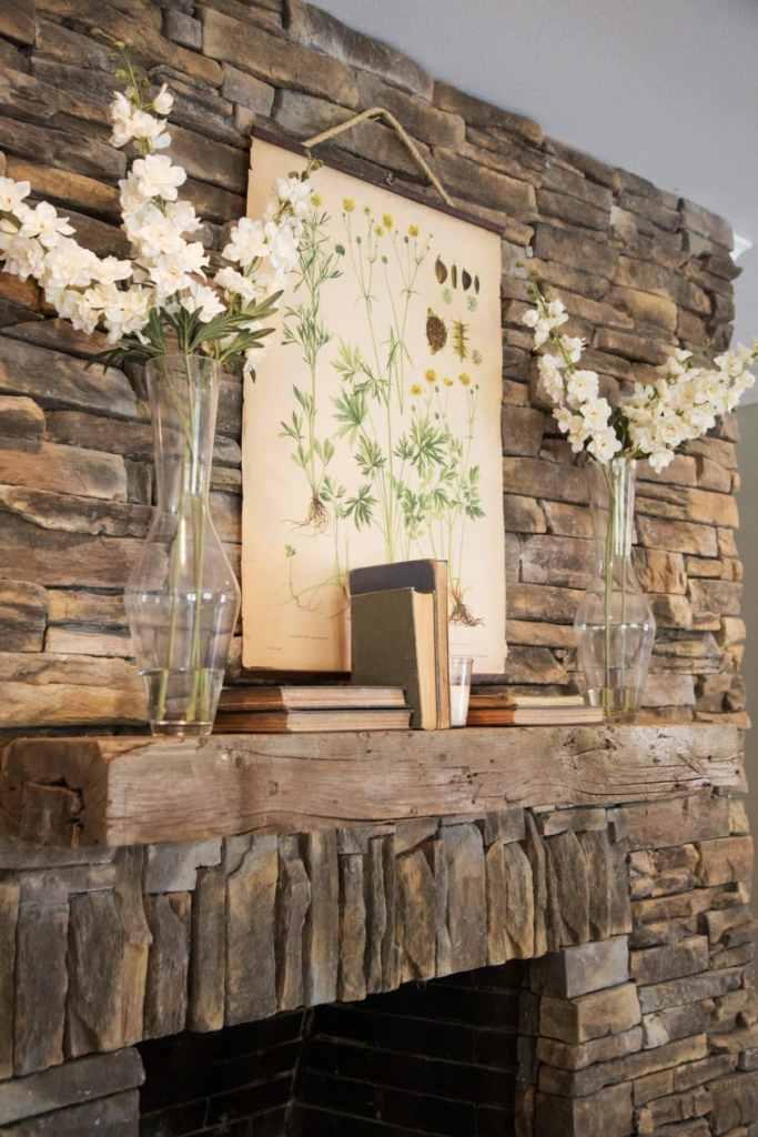 9 Fixer Upper Fireplace Mantel Decor Ideas You Can Create