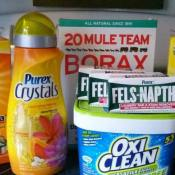 This DIY laundry detergent recipe smells so good, works great, and is mostly natural. Oh and it's less than $25 for about a year's supply!