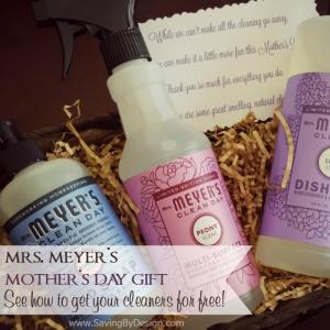 Mrs. Meyer's Mother's Day Gift Basket – Create One for Free!