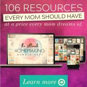 The Ultimate Homemaking Bundle 2017 is Here! {6 days only}