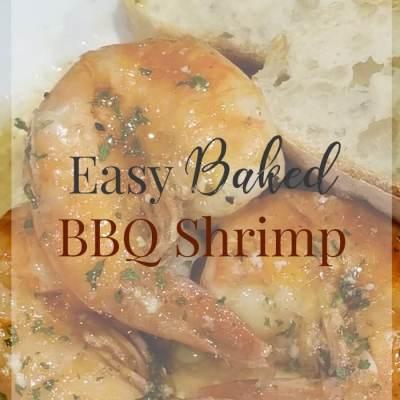 Baked BBQ Shrimp Recipe – An Easy Shrimp Recipe for Lent