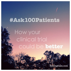 #Ask100Patients
