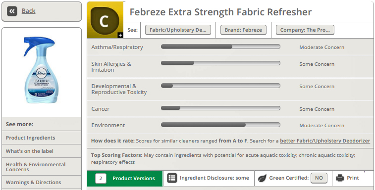 Febreze Fabric Refresher