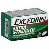 $1.50 off any one (1) EXCEDRIN product 24 count