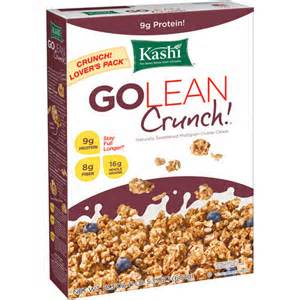 Save $0.75 off any ONE Kashi Cereal 6.5 oz. or Larger