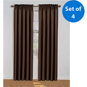 *Walmart Deal*Eclipse Samara Blackout Energy-Efficient Curtain, Set of 4 – Only $33.88