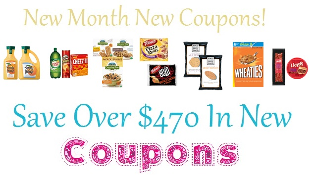 Save Over $470 In New Coupons!