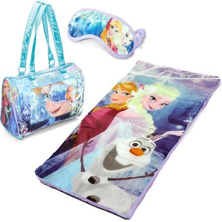 Disney Frozen 3-Piece Toddler Sleepover Slumber Sack with Purse and Bonus Eye Mask {Only $12.98}