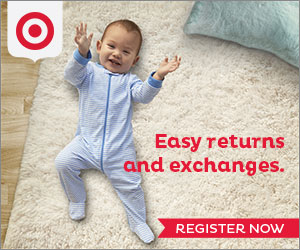Sign Up For The Target Baby Registry!