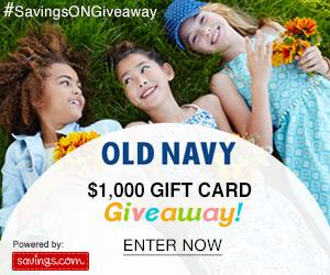 Enter The Old Navy $1000 Gift Card Giveaway!