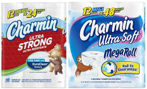Save $0.75 On One Charmin Ultra Soft Or Strong 12 Ct. or larger