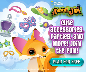 FREE- Animal Jam Game for Kids from National Geographic