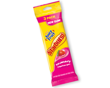 juicy fruit starburst