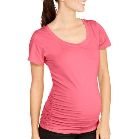 Walmart Value of The Day: Oh! Mamma Maternity Short Sleeve Tee (Only $5)