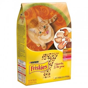 New Coupon: SAVE $1.00 on ONE (1) bag of Purina Friskies brand dry cat food any size, any variety