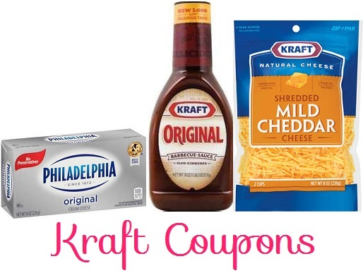 *High Value* Kraft Coupons – Philly Cream Cheese, Barbecue Sauce, & Cheeses!