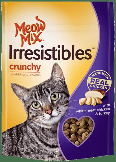New Coupon -$0.55 off 1 Meow Mix Irresistibles Cat Treats