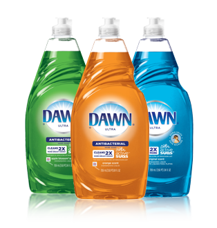 Save: $0.30 off ONE Dawn Product