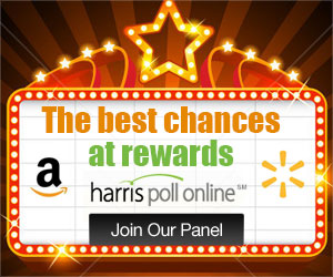 Earn Free Rewards And Gift cards With Harris Poll Online