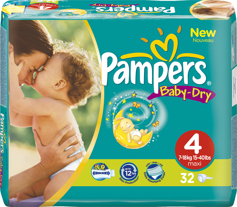 New $3/2 Pampers Coupon Available