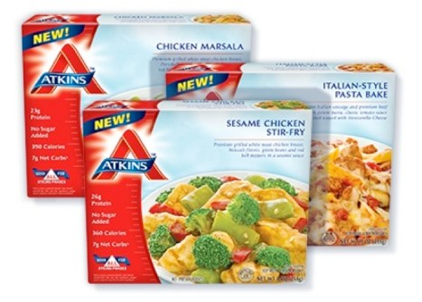 New - $0.50 off any one (1) Atkins Frozen Item