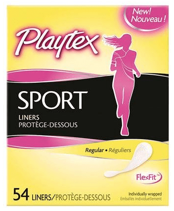 New – $2.00 off (1) Playtex Sport Pads or Liners (Only $1.99 At ShopRite)