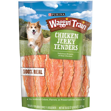 Save – $0.50 off package of Waggin Train Treats for Dogs
