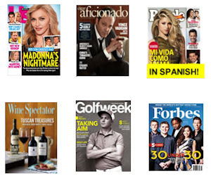 Free Magazine Subscription – Forbes, US Weekly, Golfweek & More!