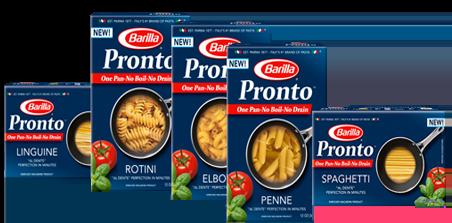 FREE – Barilla Pronto Pasta At ShopRite!
