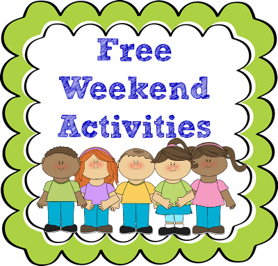 Free Activities & Goodies For the weekend!