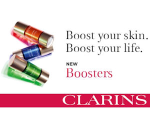 Free Sample of Clarins Beauty Boosters at John Lewis