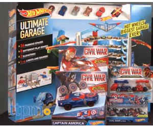 Win a Hot Wheels Marvel Captain America Prize Pack