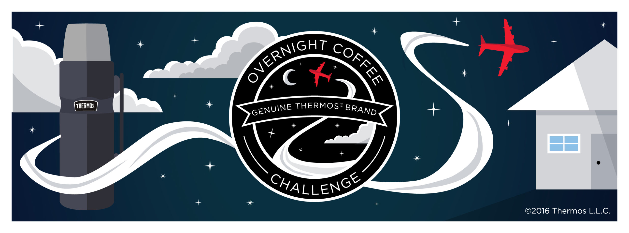 Win Coffee from Dark Matter Coffee & Thermos Stainless Bottle