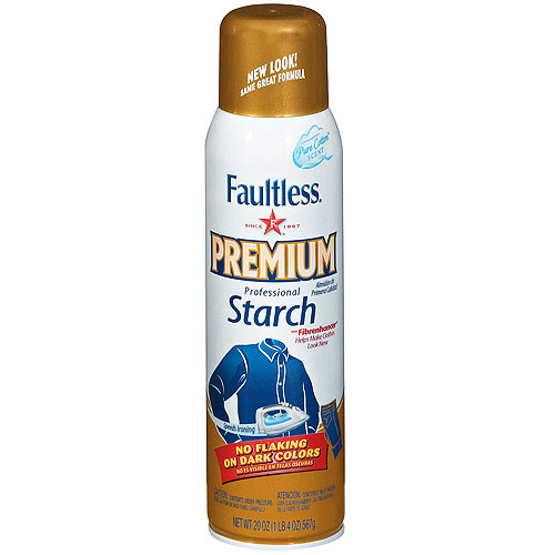 Save $0.55 off any one 20oz can of Faultless Starch