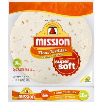 Save ~ $0.55 off 1 package Mission Super Soft Tortillas