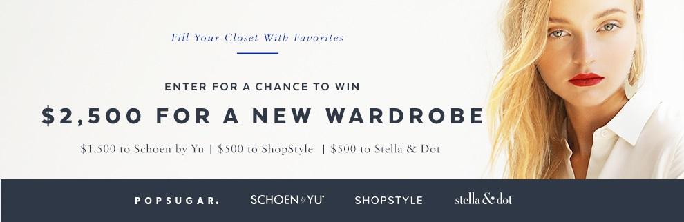 Win a $2,500 Shopping Spree from POPSUGAR