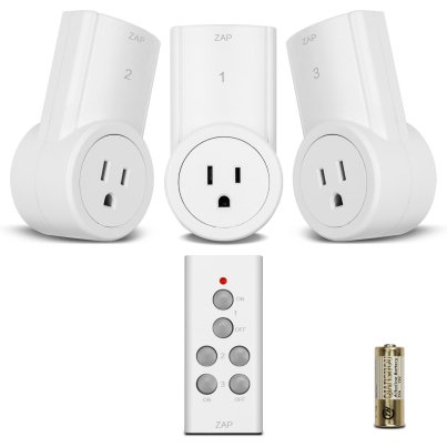 Wireless Remote Control Electrical Outlet Switch for Household Appliances