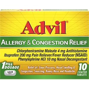 $3 MoneyMaker On Advil Allergy At ShopRite!