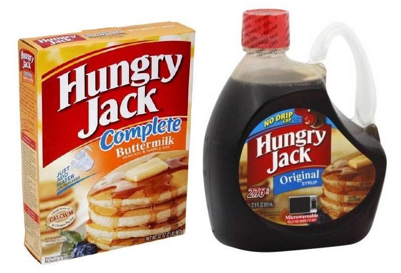 Save $0.50 off any Hungry Jack Pancake & Waffle Mix