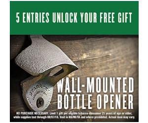 Free Copenhagen Wall-Mounted Bottle Opener!