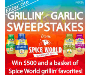 Win $500 and a Spice World Gift Basket