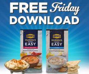 Free Bush's Hummus Made Easy for Kroger & Affiliates